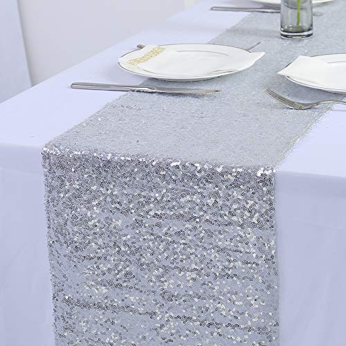 Zdada New Years Eve Party Sequin Silver 12