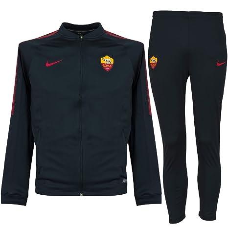 Nike As Tuta Knit Scurorosso Roma Bimbo Blu 1718 1213 LqMpUzVSG
