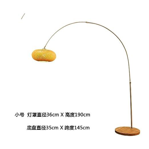 XDLDD Lámpara De Pie De Pesca Zen China Sala De Estar Japonesa ...