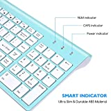 Wireless Keyboard Mouse Combo, Cimetech Compact