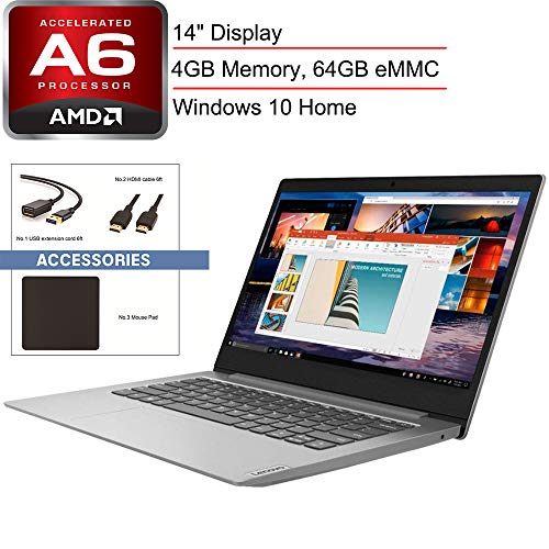 2020 Lenovo Ideapad 14 Laptop Computer Amd A6 9220e 1 6ghz 4gb Memory 64gb Emmc Flash Memory Amd Radeon R4 Ac Wifi Microsoft Office 365 Platinum Gray Windows 10 Home Spmor Accessories Best Laptop For Writers