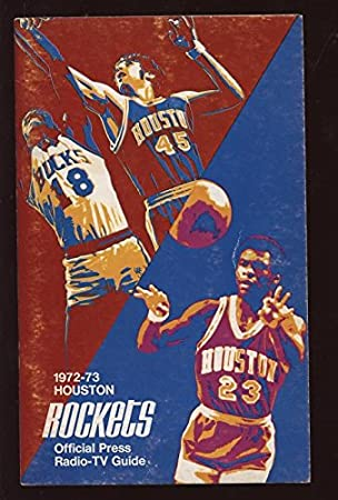 Review 1972/73 Houston Rockets Press
