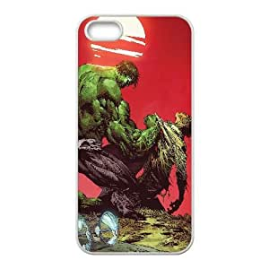 Hulk Comic iPhone5s Cell Phone Case White gift pp001_6280935