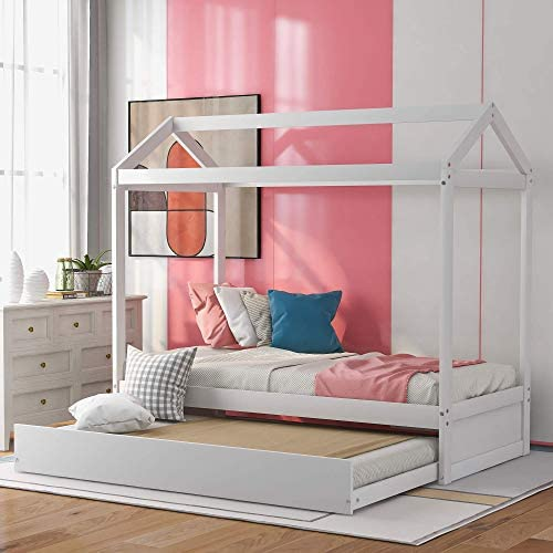 Wood Daybed Trundle Bed