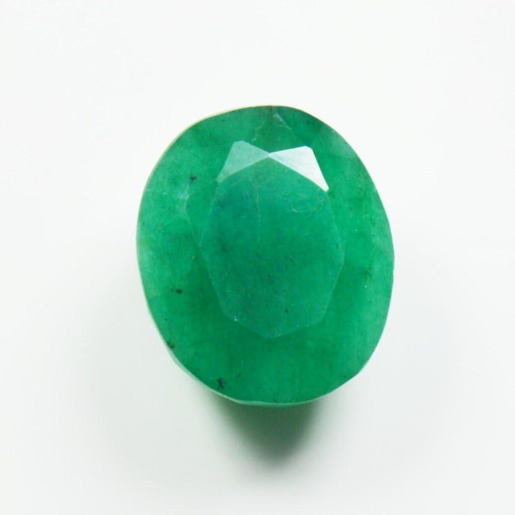 55/carats /Émeraude Naturel de 6.6/carat Original ovale Pierre pr/écieuse de courroie