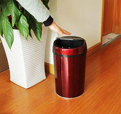KYCD KYCD KYCD Bote de Basura, Basura del hogar Sensor Cubo de Basura, Medium 475e18