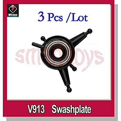 Yoton Accessories 3Pcs V913-11 Swashplate V913 RC Helicopter Spare Parts: Toys & Games