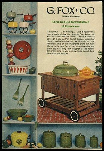 G Fox   Co Department Store Housewares Garden Appliance Mower Circular 1968