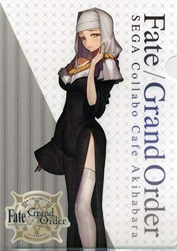 Remnants Collection - Fate Grand Order Collab Cafe Epic of Remnant Alter Ego Kiara Sessyoin Character A4 Clear File Collection Set D