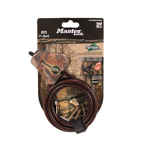 5//16 APG Camo Covert 2151 Master Lock Python Security Cable 6