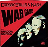 CROSBY, STILLS & NASH / War Games / PICTURE SLEEVE ONLY!