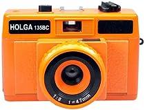 Holga Holgaglo 135 Camera - Aura Orange