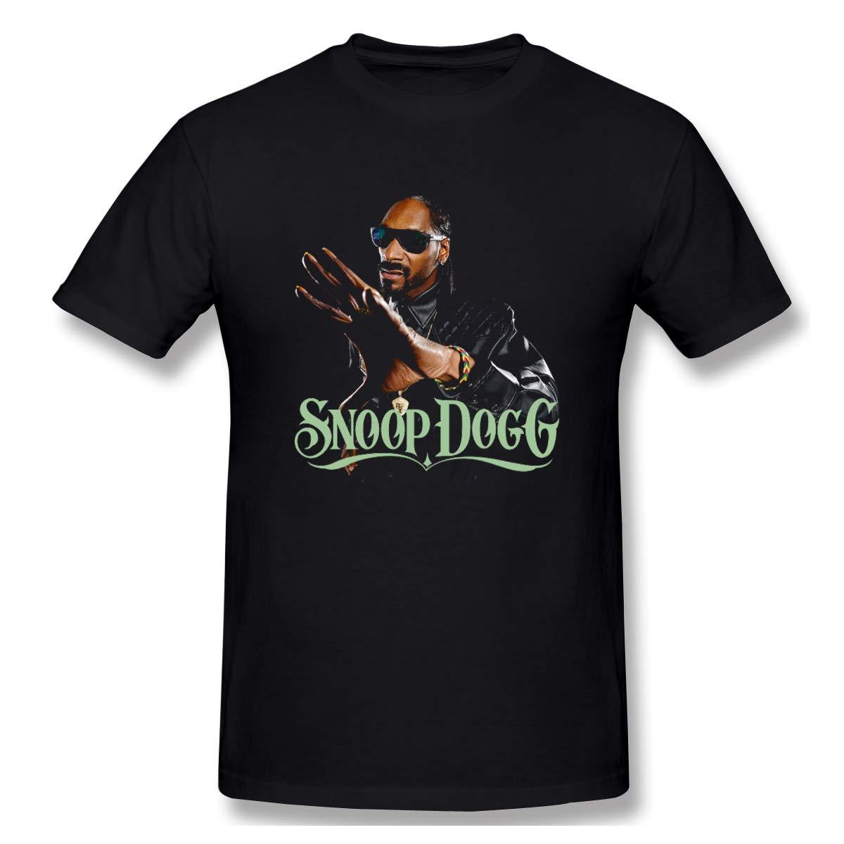 S Snoop Dogg Classic T Shirts Black