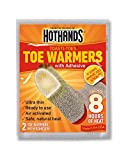 HotHands Toe Warmers With Adhesive (Provides 8 Hours Of Heat) 8 Pair Economy Pack