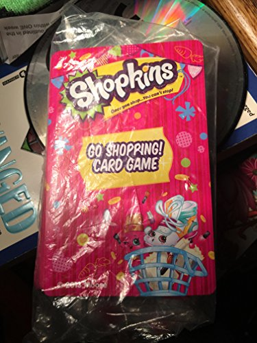 Shopkins Go Shopping CARD GAME Character Phone - Shopping Il Rockford