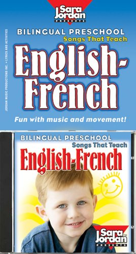 Bilingual Preschool: English-French CD/book kit (English and French Edition) by Sara Jordan Publishing