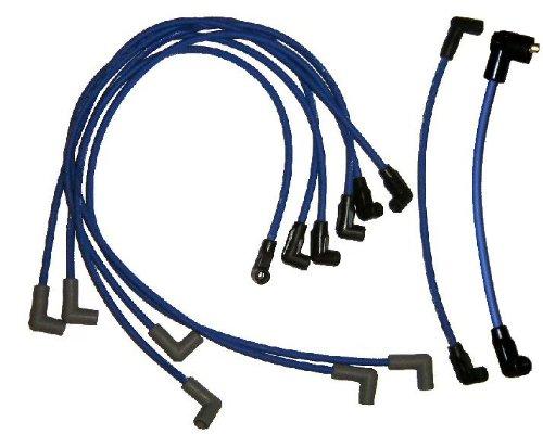 Spark Plug Wire Set for Mercruiser Thunderbolt V6 and Delco EST V6 Replaces 84-816761Q16 primary