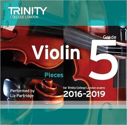 Violin CD Grade 5 2016-2019
