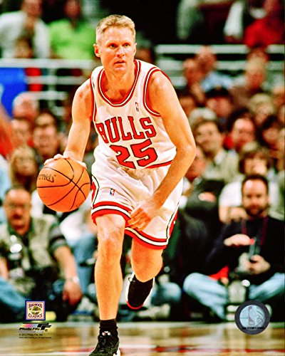 NBA Steve Kerr Chicago Bulls Action Photo (Size: 8