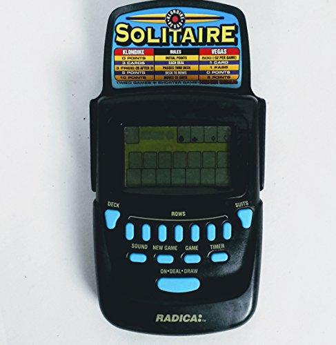 Radica Klondike/Vegas Solitaire Handheld Game Model# 3620 (Vegas Solitaire Game)