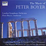 The Music of Peter Boyer: Celebration Overture, Titanic, Three Olympians for String Orchestra, The Phoenix, Ghosts of Troy, New Beginnings