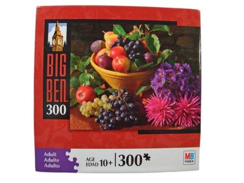 Flower Big Ben - Big Ben 300 Piece Jigsaw Puzzle: Seasonal Fruit & Flower Still Life