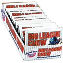 Big League Chew, Original, 2.1-Ounce Pouch, 12-Count