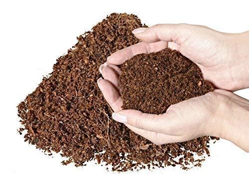 Tierra de coco para plantas, plantas de interior, paquete de 6 unidades (6 x 600 g), tierra ligera libre de turba, para macetas, cultivo, siembra, ...