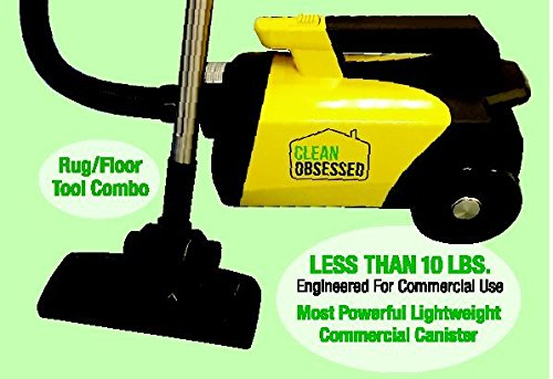 Cheap Clean Obsessed Commercial Lightweight Portable Canister Vacuum; Model CO711