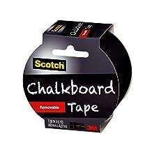 Scotch Chalkboard Tape, Black, 1.88 by 180-Inch, 1905r-cb-efs