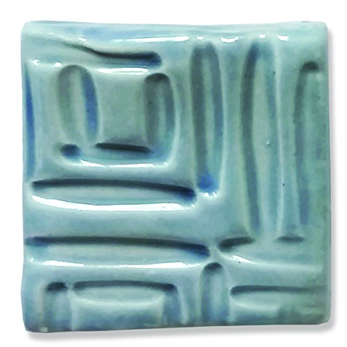 Speedball Stoneware Glaze (Speedball 002008 Stoneware Glaze, Transparent Blue, 16 oz)