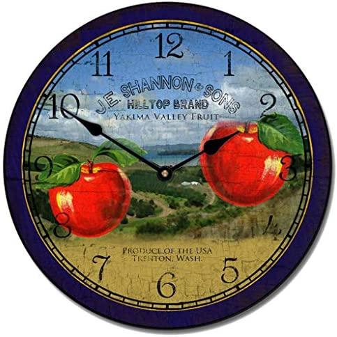 Washington Apple Wall Clock