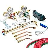 Biltek Victor-Style Oxygen Acetylene Welding Cutting Kit Precision Brazing Soldering