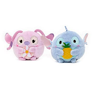 Disney Stitch y Ángel Set Mini Peluches Ufufy 6.5cm