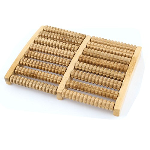 uxcell-Wooden-Stress-Relief-Health-Care-Relax-8-Rows-Roller-Foot-Massager