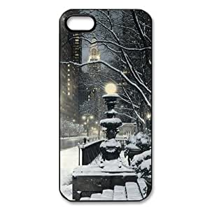 Winter Night in New York iPhone 5 Case