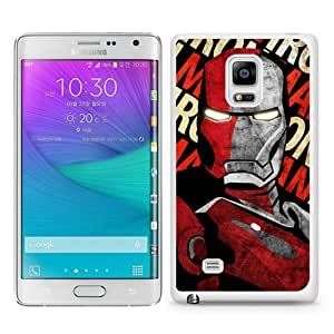 Beautiful Samsung Galaxy Note Edge Cover Case ,Newest And Durable Designed Case With Iron man 19 White Samsung Galaxy Note Edge Case Unique And Cool Phone Case