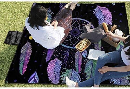 Suo Long Coperta da Picnic Mandala Dreamcatcher Picnic Mat Beach Blanket