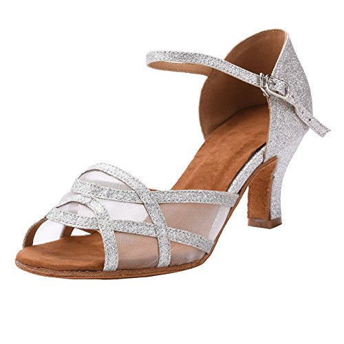 Image of Akanu Women's Latin Dance Shoes Female's Ballroom Salsa Dance Shoes