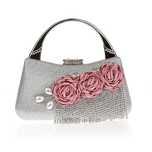 Tassels Handbags Wedding Clutch Purse Evening Bags Dinner Bags for Women ()