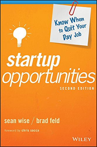 Startup Opportunities by Brad Feld & Sean Wise ebook deal