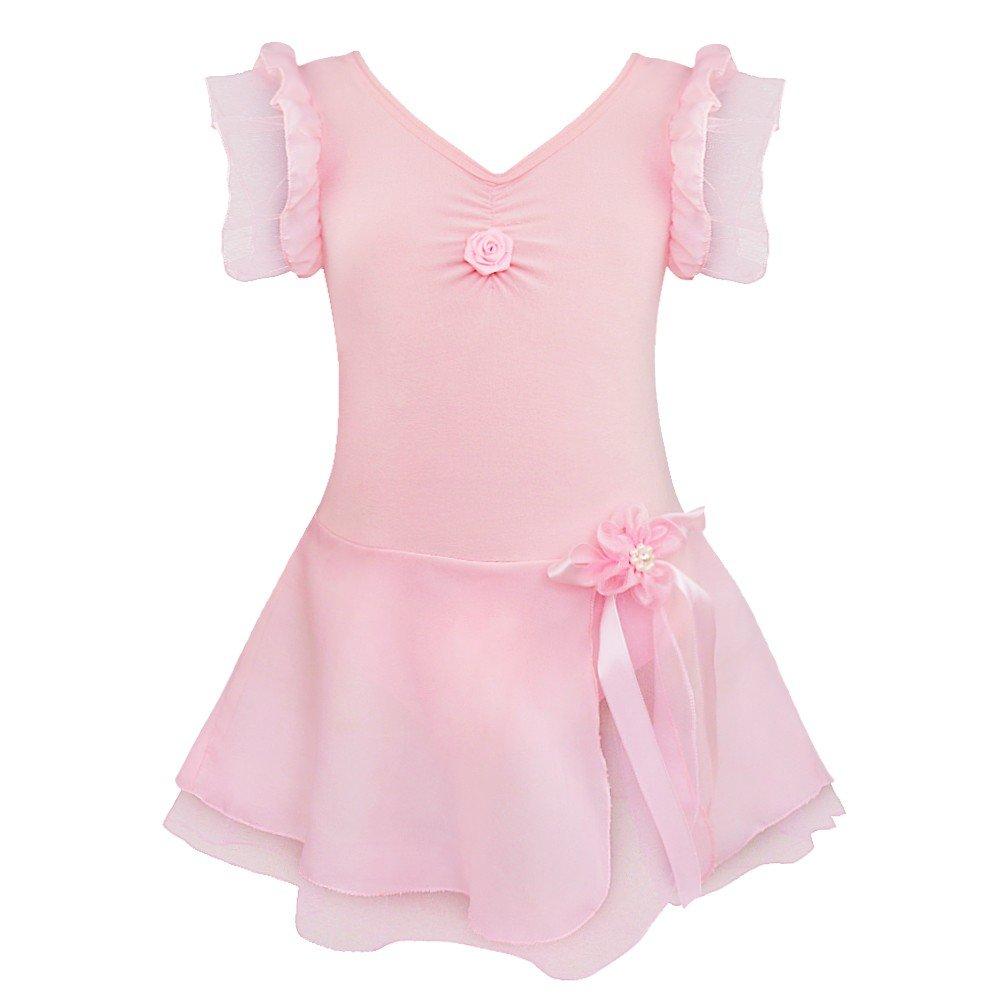 好評 Agoky DRESS ガールズ B07F82LKN5 5/ Agoky/ 6 ピンク 6 ピンク ピンク 43591, Mystyleインテリアストア:75bf727f --- vezam.lt