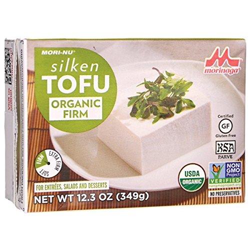 Mori Nu Organic Firm Silken Tofu, 12.3 oz (349 g)
