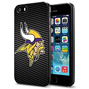 NFL Minnesota Vikings, Cool iPhone 5 5s Smartphone Case Cover Collector iphone Black