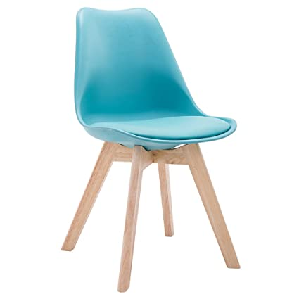 Amazon.com - JYKJ Wooden Chair, Wood Dining Chair Creative Vintage ...