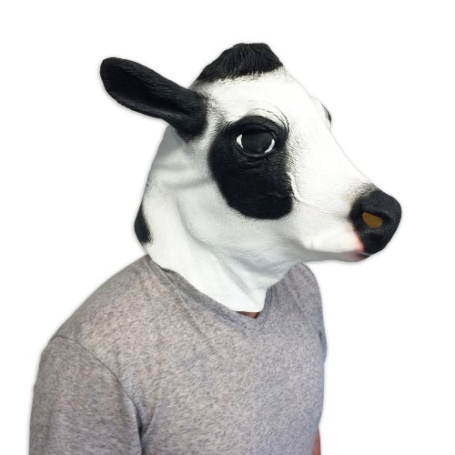 Cow Mask – Funny Animal Masks – Off the Wall Toys