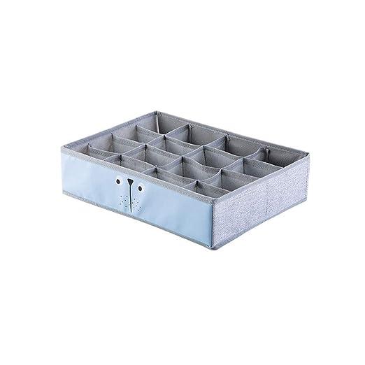 LDG Ropa Interior Caja Almacenamiento, Paño【3 Paquetes】 Plegable ...