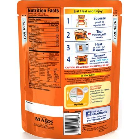 Ready Rice: Brown Basmati, 8.5oz - 3Pack