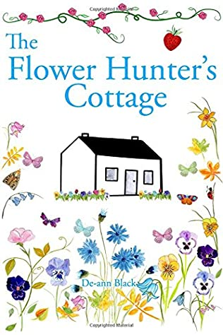 book cover of The Flower Hunter\'s Cottage
