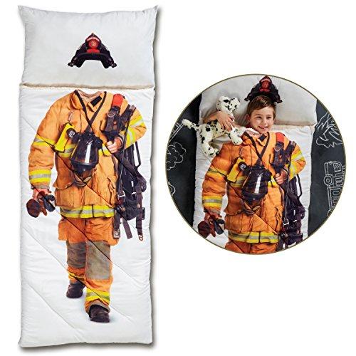 FAO Schwarz Sleeping Bag Imaginary Adventure - Fireman